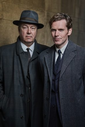 Endeavour TV Poster