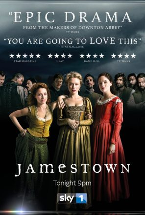 Jamestown TV Poster