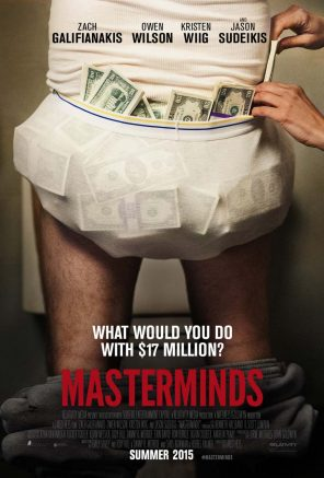 Masterminds Film Poster